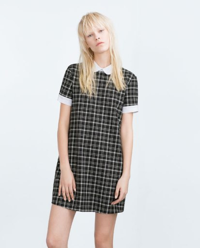 Zara Check Dress - £29.99