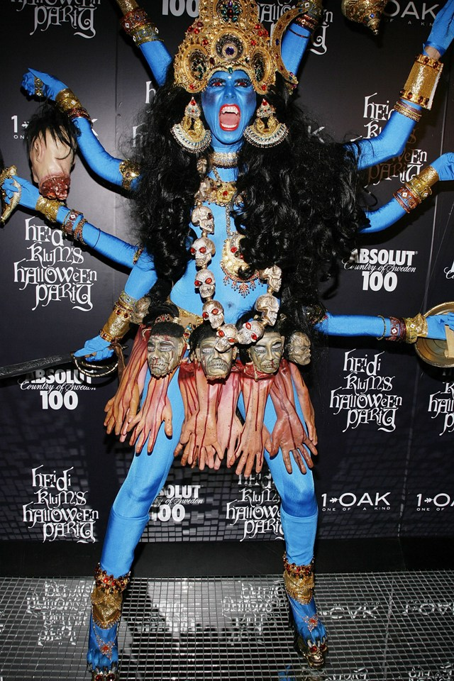 NEW YORK - OCTOBER 31:  Heidi Klum attends Heidi Klum's 9th annual Halloween party at 1 OAK on October 31, 2008 in New York City.  (Photo by Joe Kohen/WireImage)