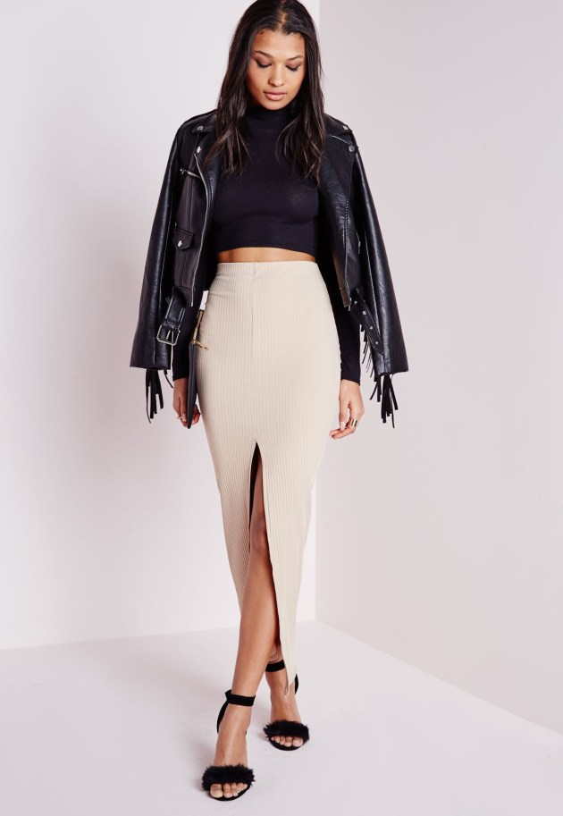 Missguided Midi Skirt (Image: missguided.com)
