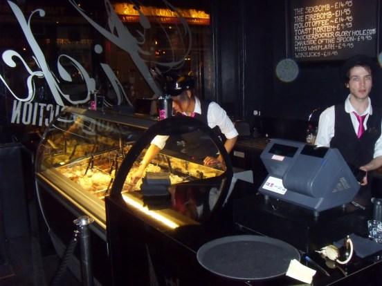 Icecreamists bar