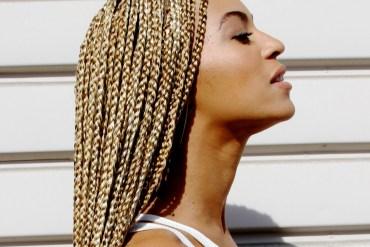 Beyonce gold braids