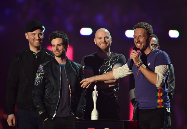 Coldplay at Brits