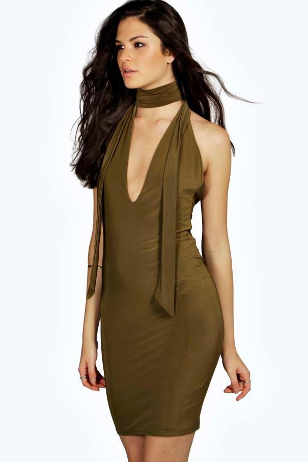 Body con dress by Boohoo