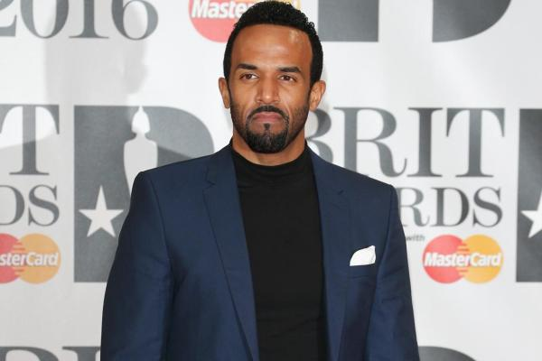 Craig David at the Brits