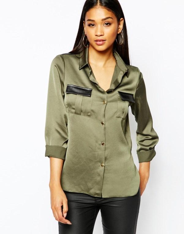 Lipsy military shirt