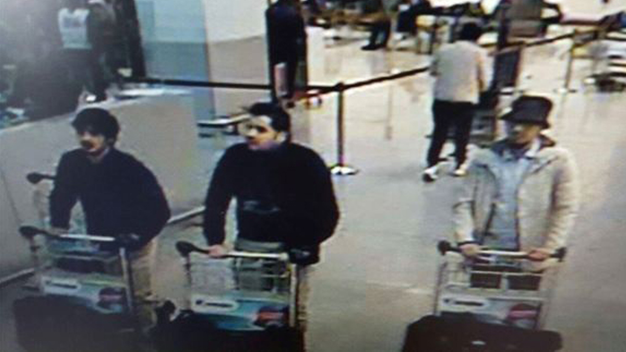 3 suspects of Belgium attack