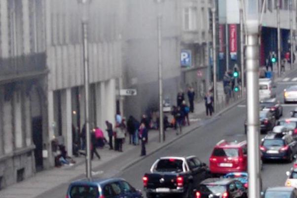 Maalbeek station attack
