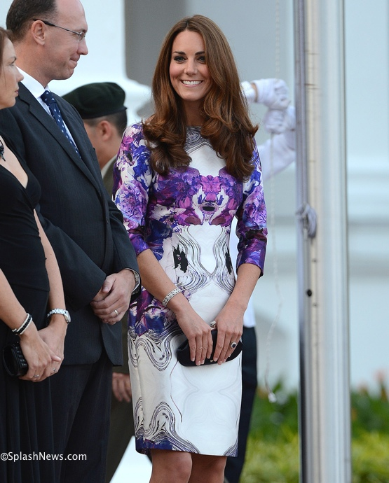 The Duke and Duchess of Cambridge attend a State dinner