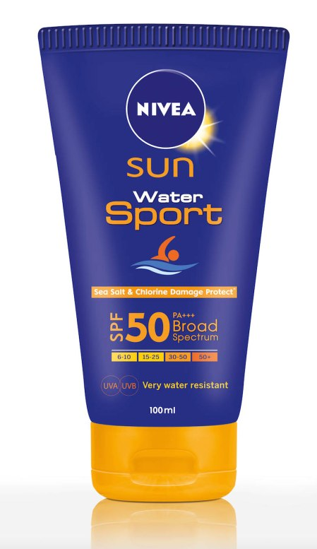 Nivea Sun and sport spa