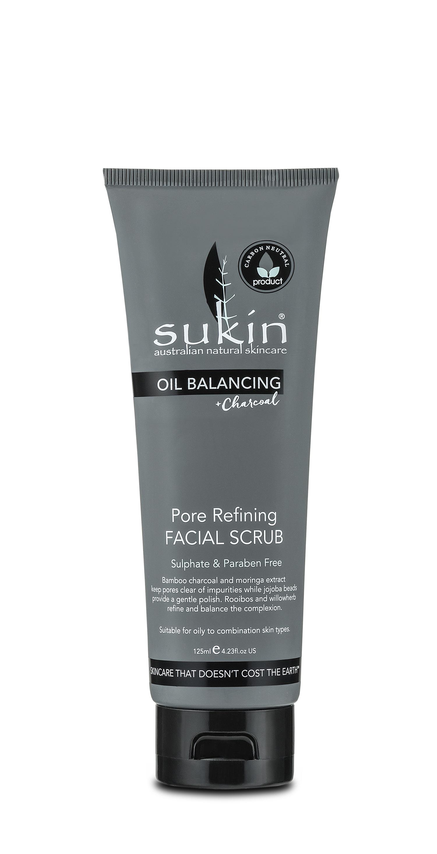 Sukin Charcoal scrub