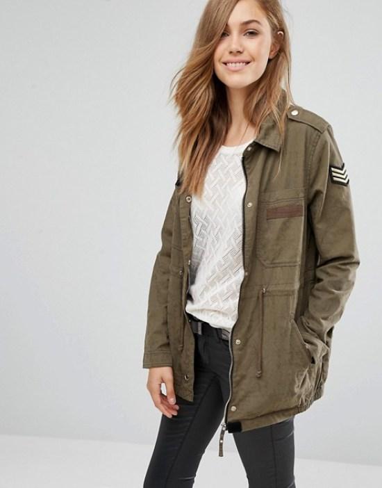 Pinkie military jacket