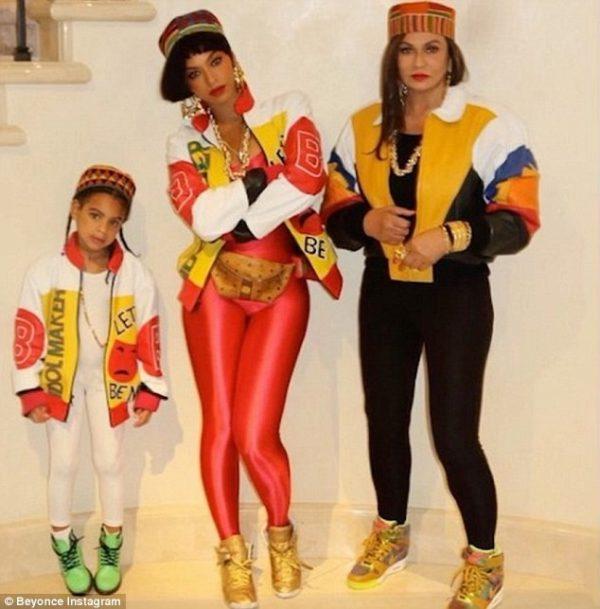 Beyonce, Blue Ivy as Salt-N-Pepa