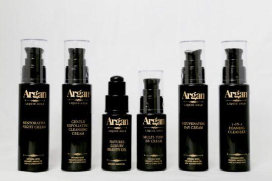 Argan liquid gold range