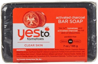 Yes to tomatoes charcoal soap