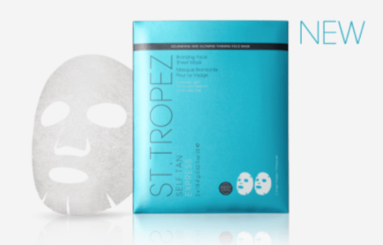 Sheet mask self tan st trope