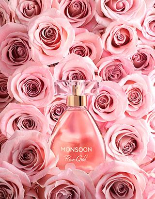 Monsoon rose gold