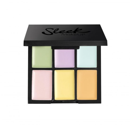 Colour corrector palette