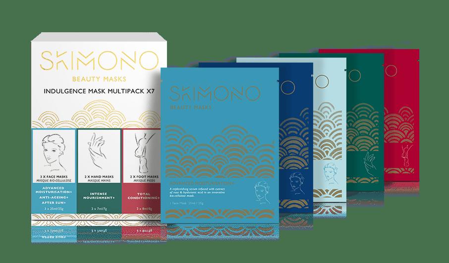 Kimono beauty face masks