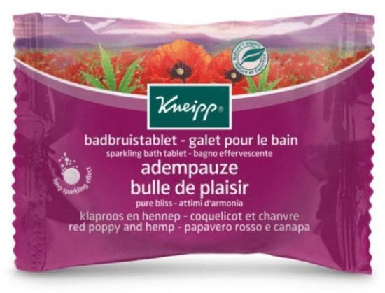 kneipp pure bliss bath tablet