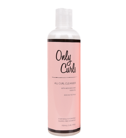 only-curls-cleanser shampoo