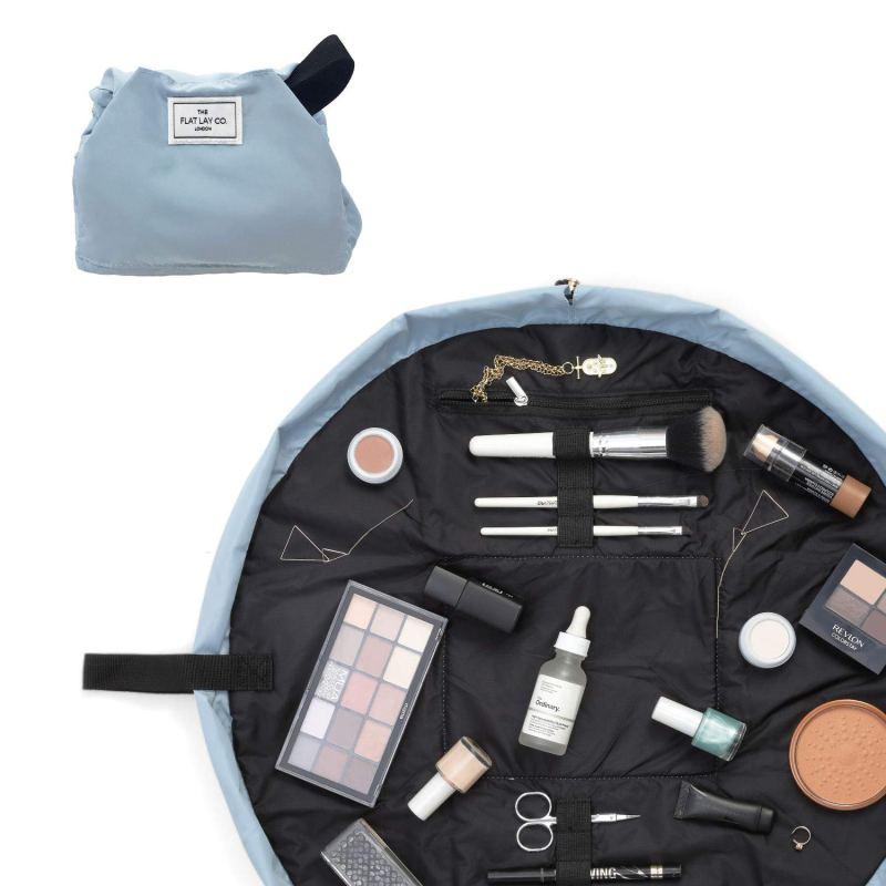 theflatlayco makeup bag