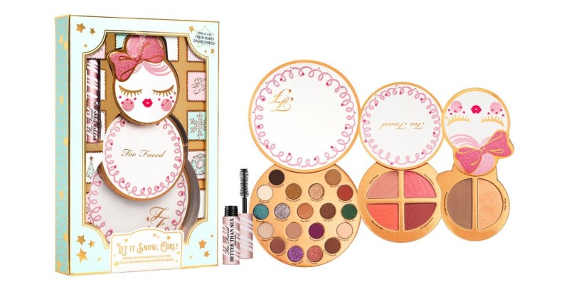 too faced makeup set let it snow