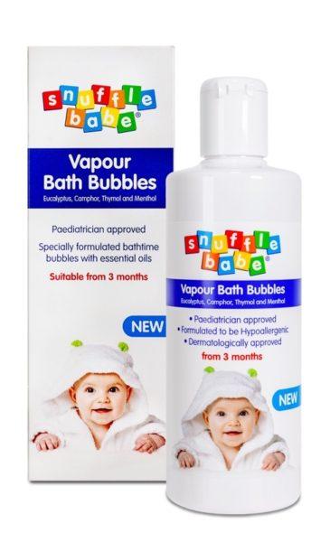 Snufflebabe Vapour Bath Bubbles 300ml gift