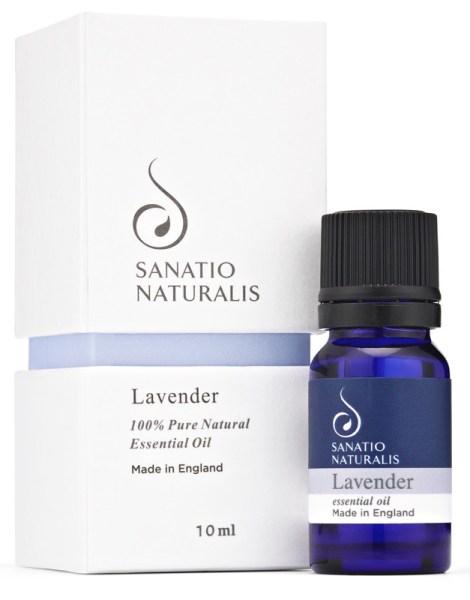 Sanatio Naturalis Lavender 100% Natural Essential Oil