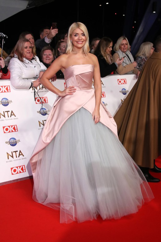 Holly Willoughby nta awards