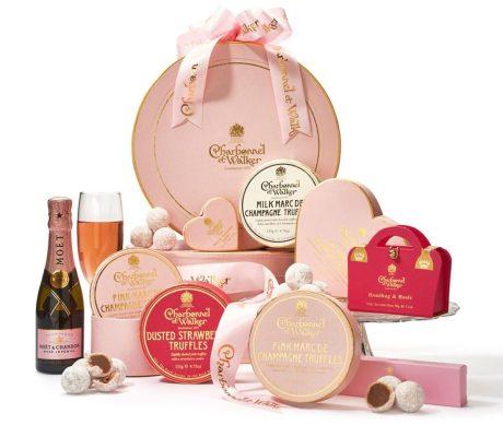 harrods valentines gift champagne hamper