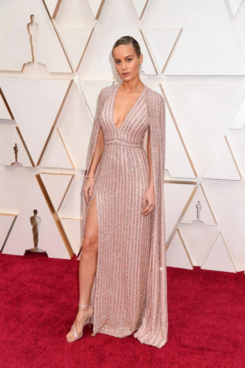 Brie Larson in Celine oscars 2020