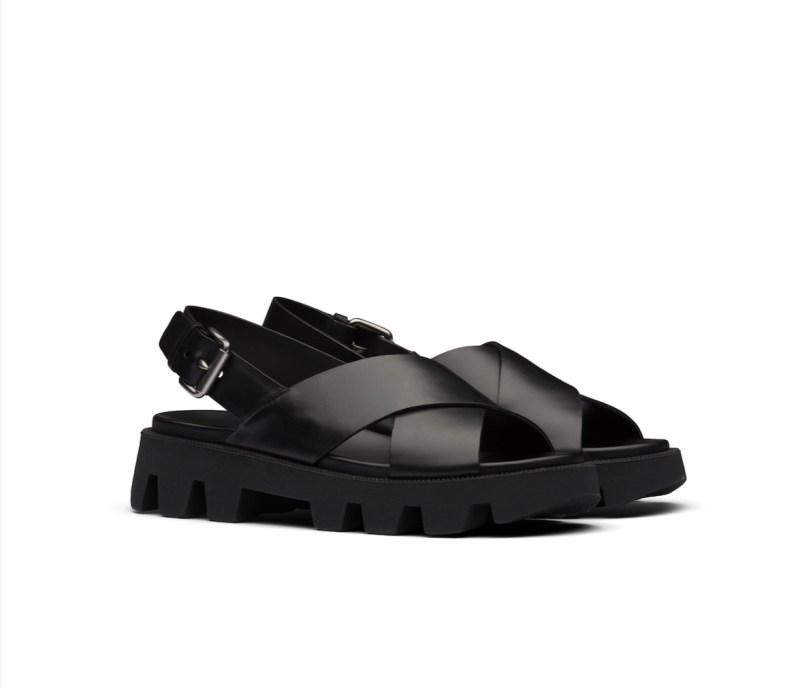 Prada Leather sandals, £490