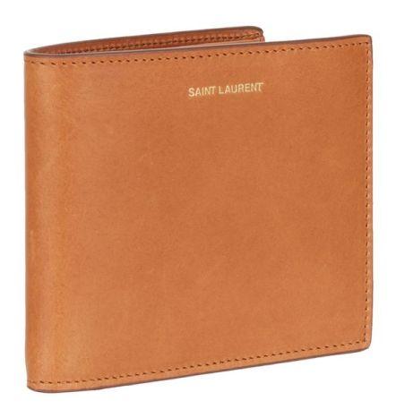 Saint Laurent Leather Bifold Wallet, £240