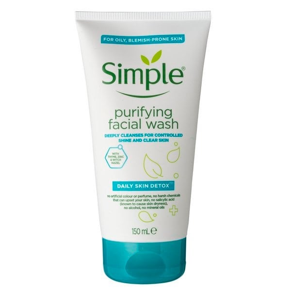 maskne acne facial wash