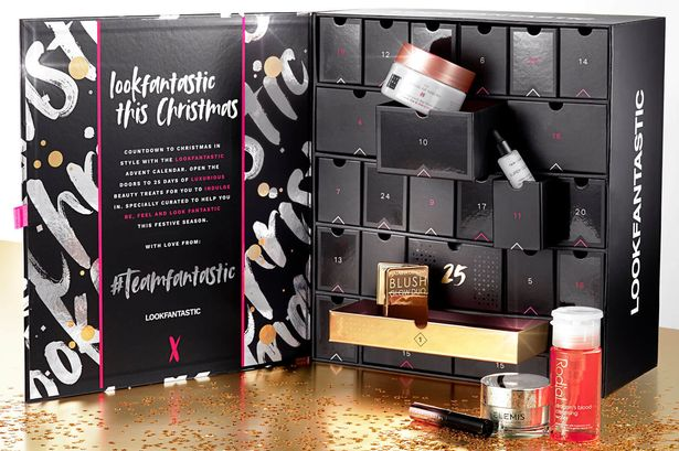 Lookfantastic Beauty Advent Calendar, £85