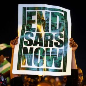 end sars Lagos Nigeria protest