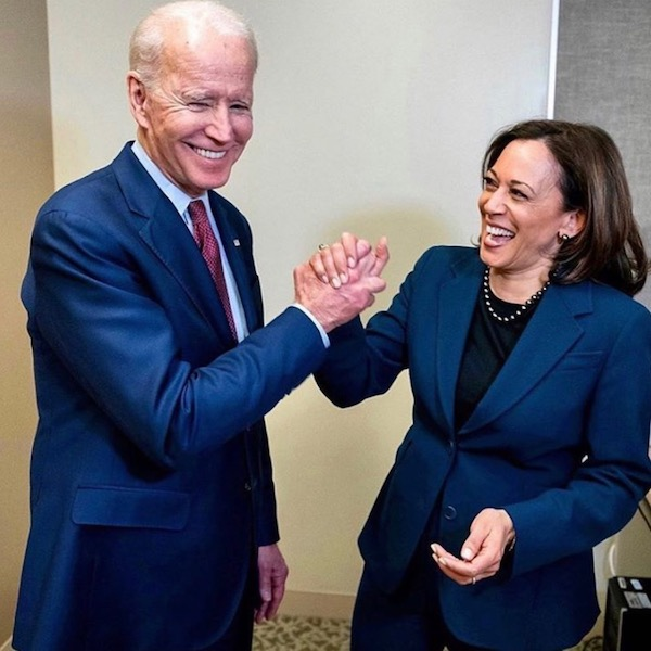 Joe Biden and Kamala Harris FRUKMAGAZINE