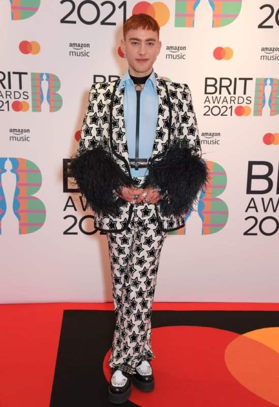 Olly Alexander brit awards 2021