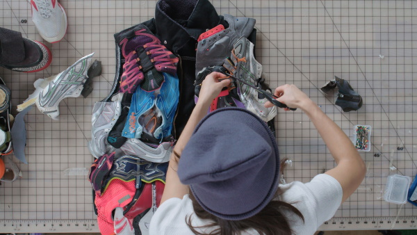 Nicole McLaughlin designer recycle footwear