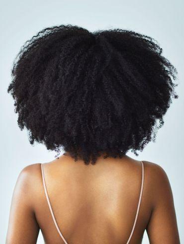 black hair afro