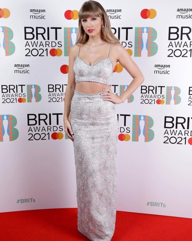 Taylor Swift brits awards
