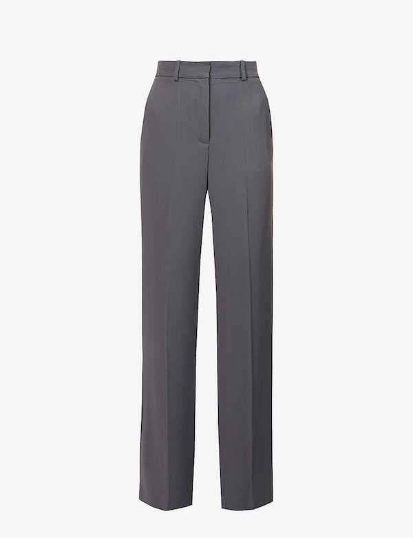 JOSEPH Morissey High-rise Wide Trousers x FRUKMAGAZINE
