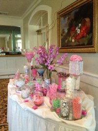 """Precious-in-Pink"" Candy Station - Wedding Venues ..."