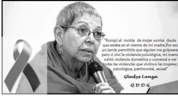 Luto Gladys Lanza Honduras