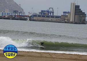 fotos en ereaga de surf