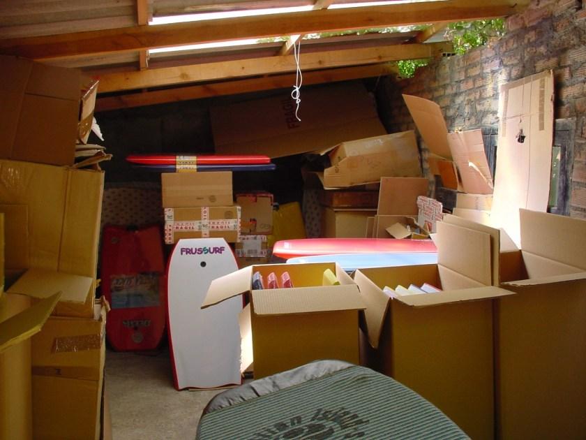 Garaje de FrusSurf año 2001