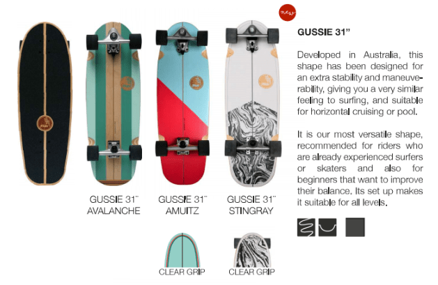 surfskate slide gussie 31
