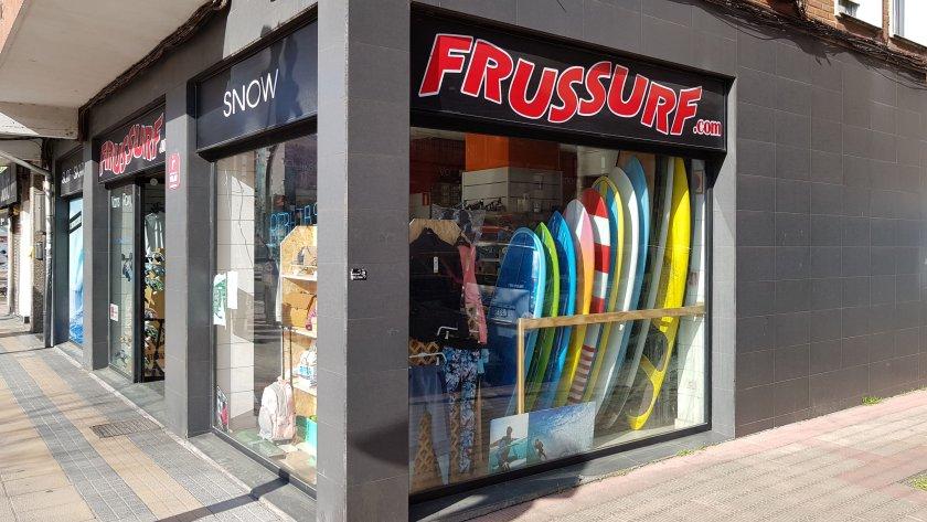 tienda de surf frussurf de barakaldo