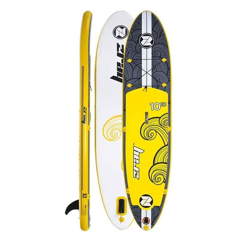 SUP-Paddleboard Zray inflable X2 10´10´´