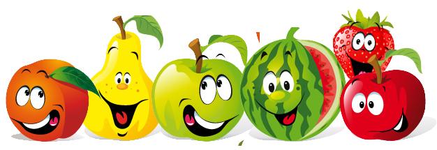 frutas con rostro
